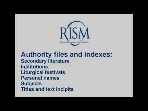 Muscat: Authority files and indexes