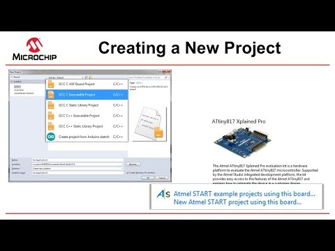 Getting Started with Atmel Studio 7 - Episode 7 - Creating a New