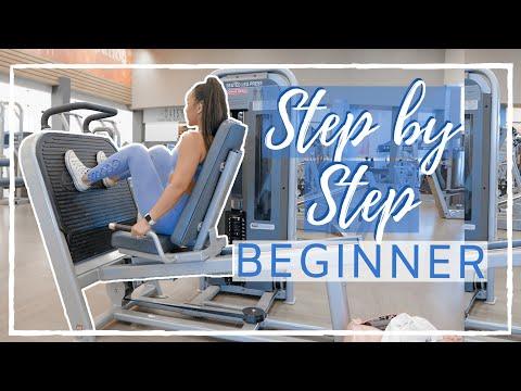 Beginner Full Body Gym Workout