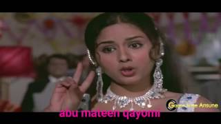 Peete Peete Kabhi Kabhi   Mohammed Rafi  Asha Bhosle   Bairaag 1976 Songs   Dilفلم بیراگ دلیب کمار0