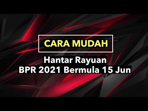 CARA MUDAH HANTAR RAYUAN BPR 2021, JGN TERLEWAT!