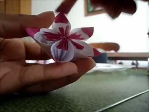 Flores De Origami Youtube