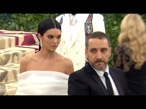 Kendall Jenner Reacts To Backlash After Pushing Security At Met Gala 2018  Hollywoodlife