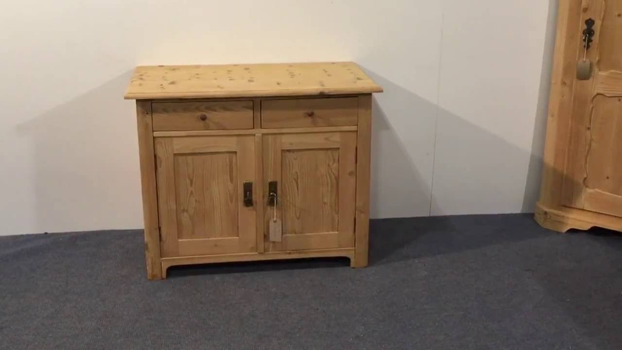 Small antique pine cupboard - Pinefinders Old Pine Furniture Warehouse - Small Antique Pine Cupboard - Pinefinders Old Pine Furniture