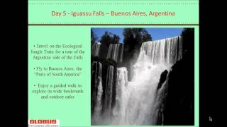 South American Escape Webinar - Singles Travel & Solo Trip Adventure