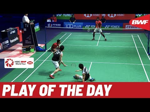 Tige and Daniel - Badminton Play Of The Day