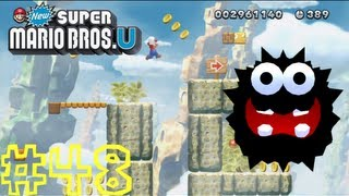 New Super Mario Bros. U -- Rock-Candy Mines-1: Fuzzy Clifftop