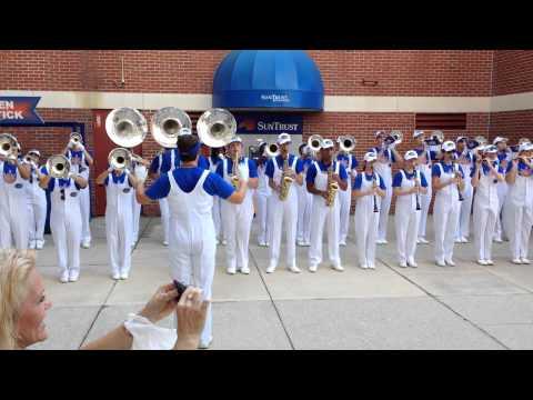 University of Florida - UF Marching Band 9/13/14 - Gator Walk
