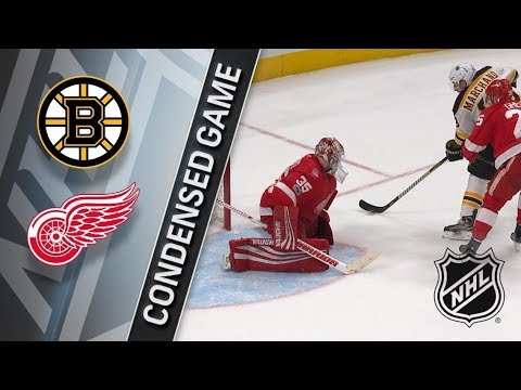 Boston Bruins vs Detroit Red Wings – Dec. 13, 2017 | Game Highlights | NHL 2017/18. Обзор матча