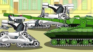 охотник убийца T3 - мультики про танки