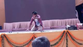 DU Solo dance (Neeraj champ) college fest dance competition.