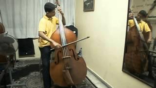 Eccles Sonata in G minor Double Bass - II Mov. allegro con spirito
