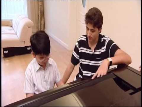 12 year old Hong Kong piano prodigy Aristo improvising for Alex Prior