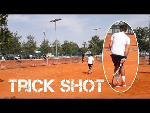 Novak Djokovic TRICK SHOT - Belgrade 2018 (HD)