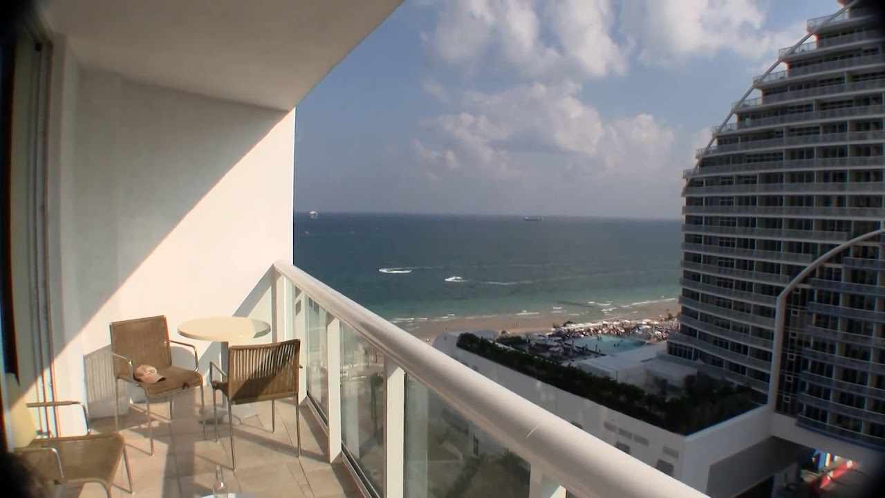 Hilton Fort Lauderdale Beach Resort Suite Review Youtube
