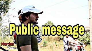 Traffic Police The Public Message | Mardan Vines |