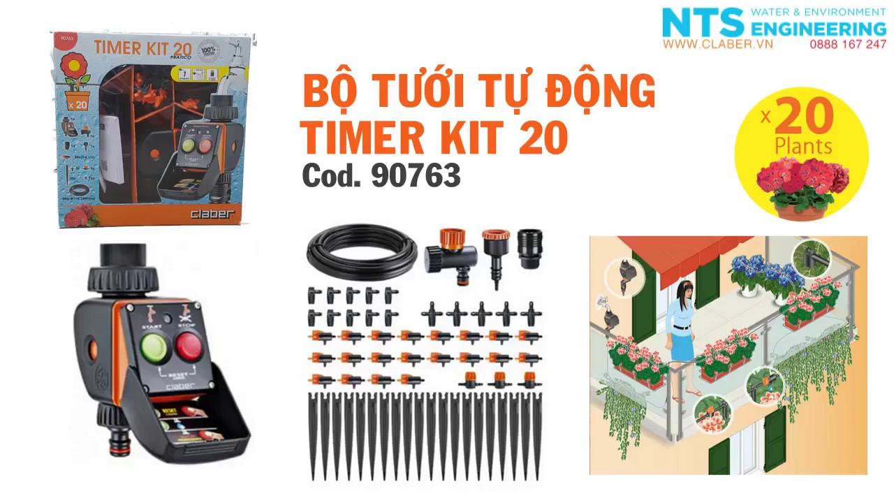 Timer Kit 20 Pratico Claber Giardino e giardinaggio