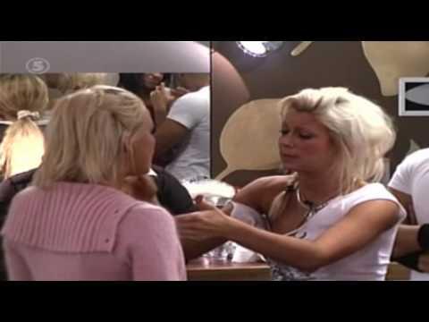 Big Brother 2006 - Jessica och Angelica bråkar