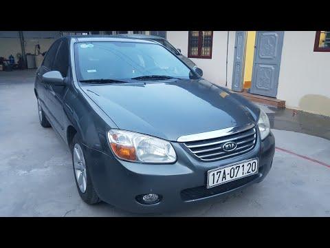 Mẫu xe sedan nhập khẩu,Kia Cerato 2007 đk 2008 màu lông chuột,mới về Mạnh Ô Tô.Zalo 0866.555.044