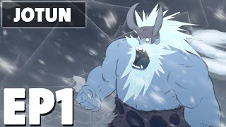 Let's Play Jotun Episode 1 - Introducing Thora - Hand Drawn Action Exploration Game
