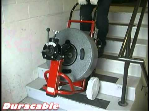 Duracable Mfg Drain Machine- Transporting Model DM175