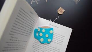 Back to school DIY Bookmarks- tea cup, heart, mustache | Creative Twins