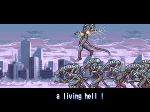 Alien vs. Predator - Arcade - intro