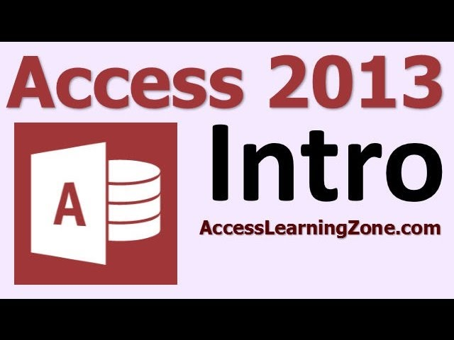 Microsoft Access 2013 / 2016 Beginner