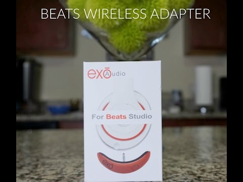 How To Make Your Wired Beats WIRELESS (Exo Audio Adapter)
