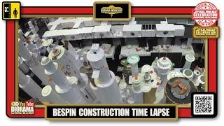 Star Wars Celebration Anaheim Cloud City Diorama Workshop : Hasbro Time Lapse Construction