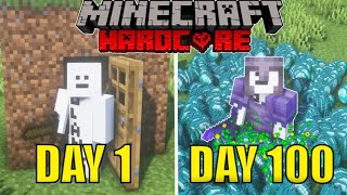 I Spent 100 Days Getting As Rich As Possible In Minecraft Hardcore Mode, And Here's What Happened...