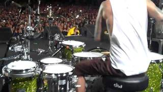 Travis Barker Drum Solo at The Smokeout Festival 2010