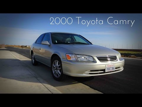 2000 Toyota Camry XLE 3.0 L V6 Road Test & Review