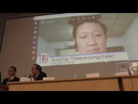 Smart Region: Opportunities e-education - Introduction to Thailand Cyber University (TCU) 1/2
