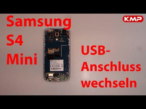 Samsung Galaxy S4 mini - USB-Anschluss, Dock-Connector reparieren, repair, wechseln, tauschen