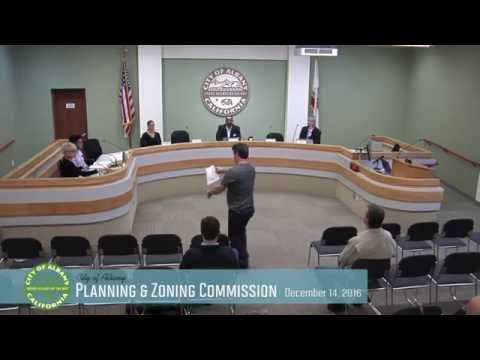 Planning & Zoning Commission - Dec 14, 2016