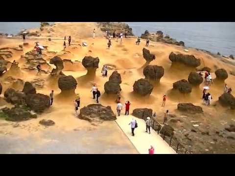 Nature's Wonders : Yehliu Geopark, Taiwan