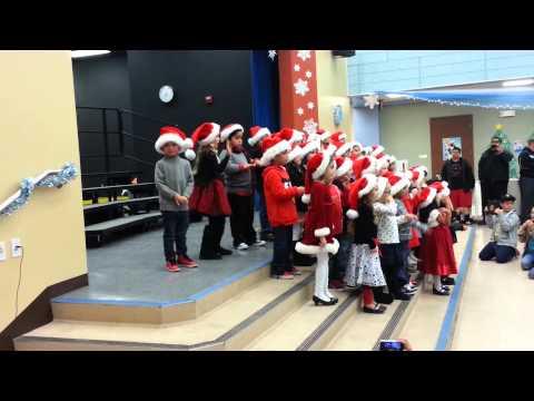 Brandon's winter performance at Megan Cope Elementary School