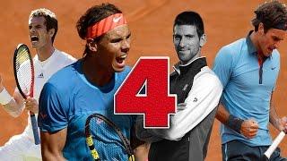 The Big Four | Warriors ( HD )  Federer Nadal Djokovic Murray