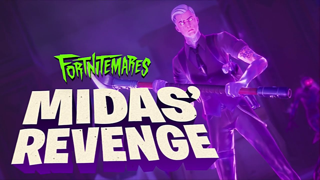 FORTNITE Midas' Revenge Trailer (Fortnitemares 2020) - Cultured Vultures