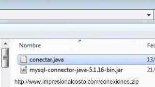 Netbeans Objeto Conectar a MySql Java Video 1