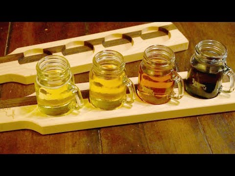 custom beer flight paddles mikes inventions youtube