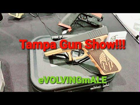 At the Tampa gun show!