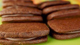 Chocolate Mint Shortbreads Recipe Demonstration - Joyofbaking.com