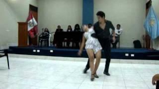 Salsa Timbalero,  bailan  Gino  y  Lucero,  BALLET   MELL  ROUSSE - Chimbote
