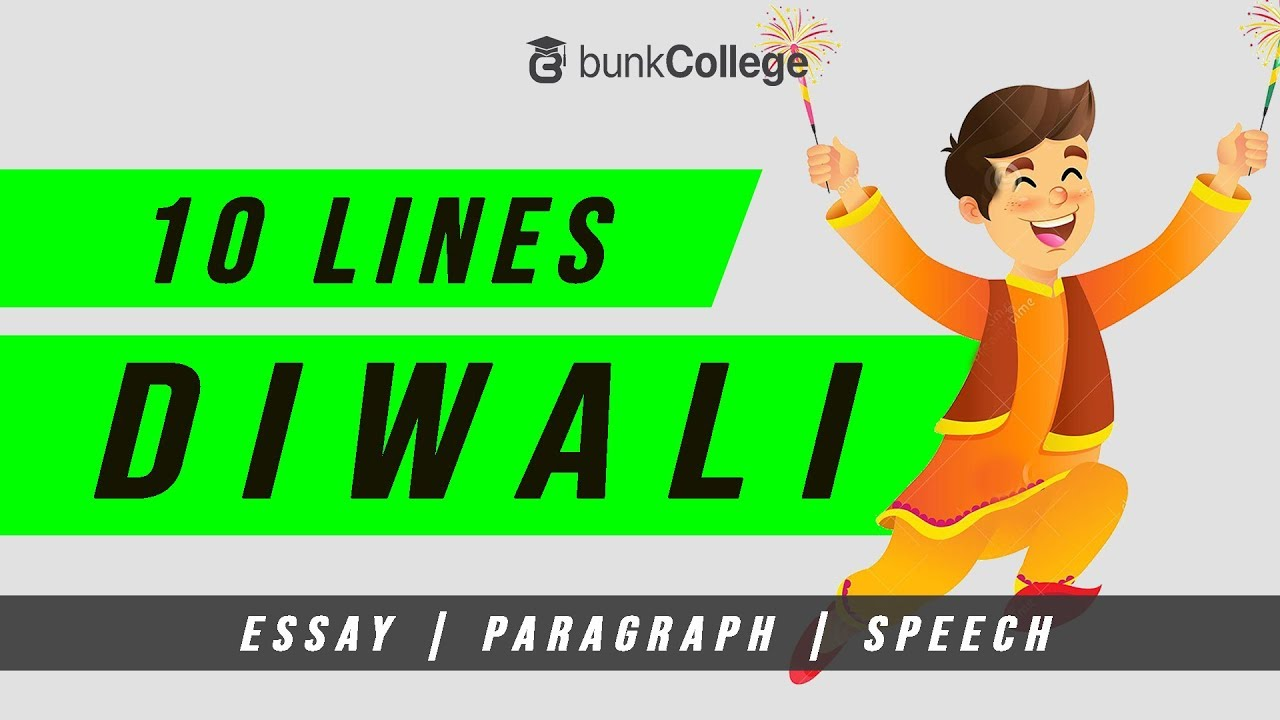 10 Lines On Diwali In English Essay Paragraph Speech Youtube