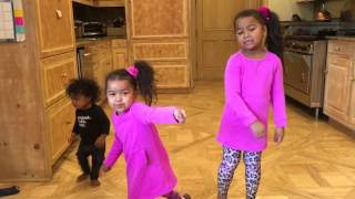 Adorable Heavenly Joy turns up to Erica Campbell's I Luh God