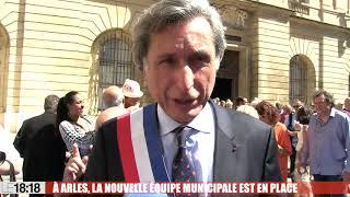 À Arles, la nouvelle équipe municipale est en place