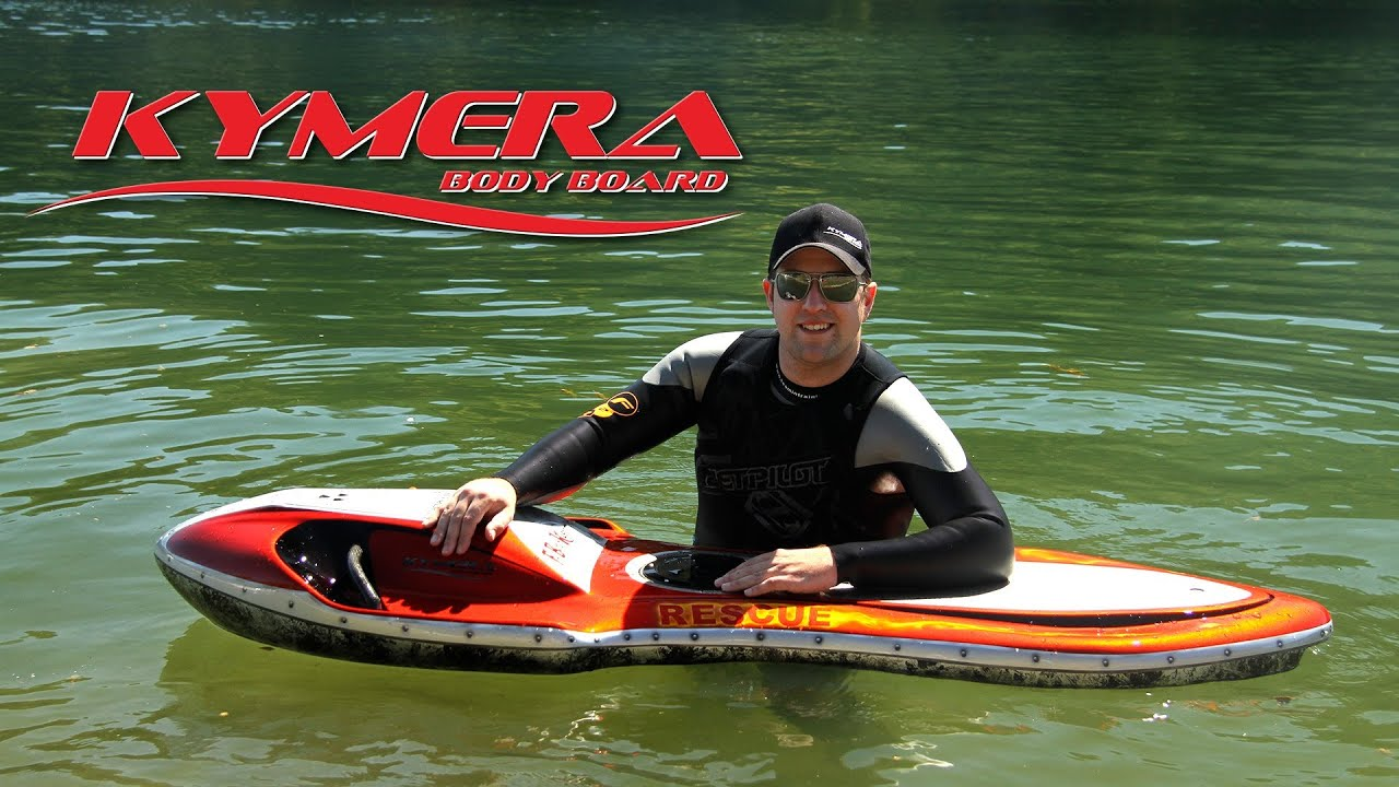 Kymera Jet Electric Body Board Aerial Promo