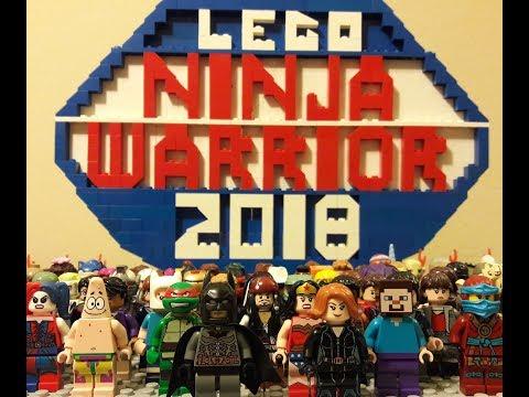 Lego Ninja Warrior Seasons 1, 2, & 3
